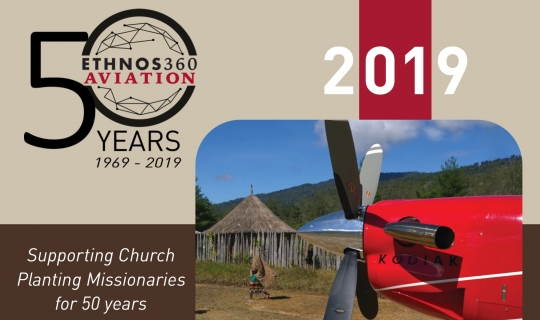 Ethnos360 Aviation 2019 calendar