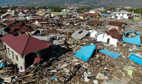 Devastation Continues in Sulawesi