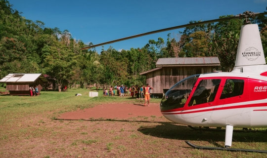 3 Helicopters for PNG