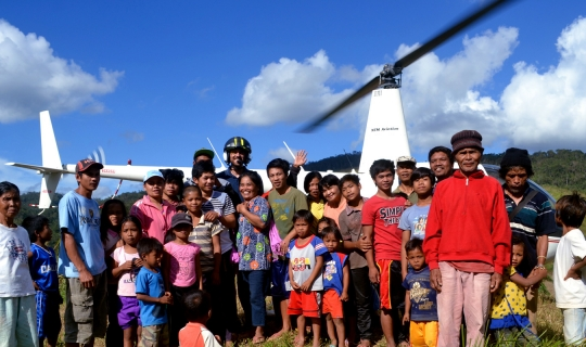 NTM Aviation provides typhoon relief